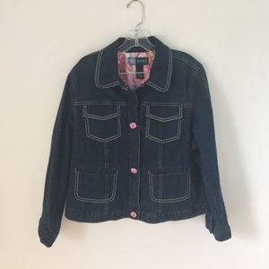{Avenue Blues BLue Denim Jacket Sz 18/20